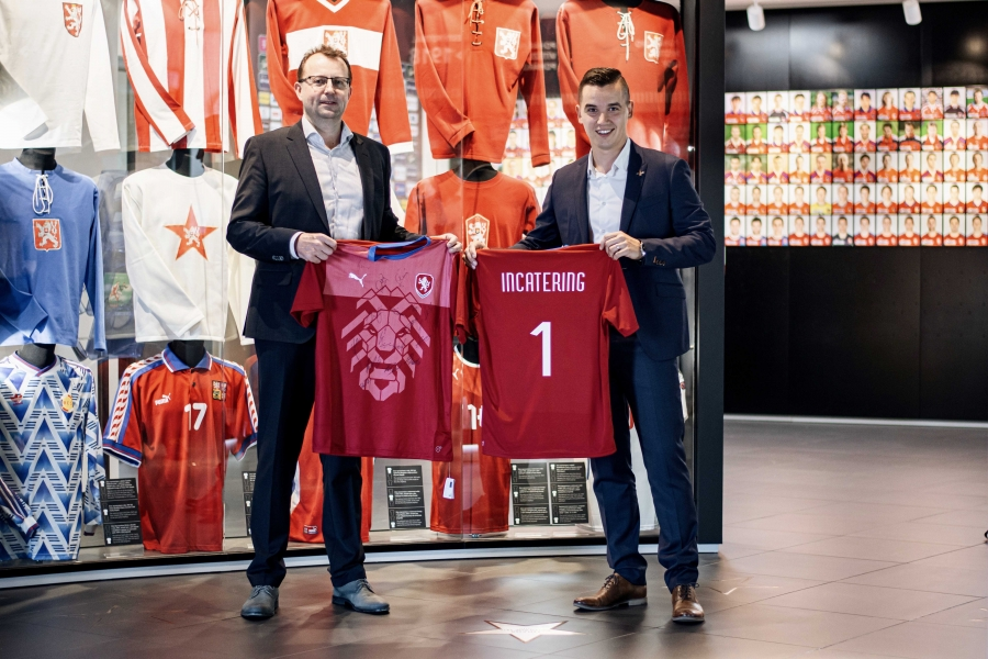 OFFICIAL SUPPLIER OF THE CZECH FOOTBALL REPRESENTATION